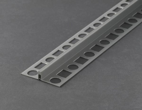 Dehnungsfugenprofil PVC Hart / Weich Dunkelgrau 250cm