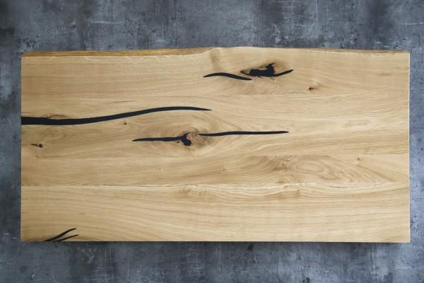 Waschtisch mit Baumkante 100 cm × 50 cm × 3,5 cm