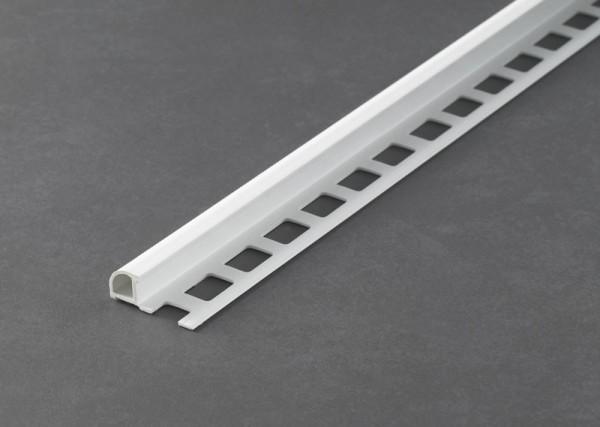 Fliesenschiene Musterstück - Rundprofil PVC