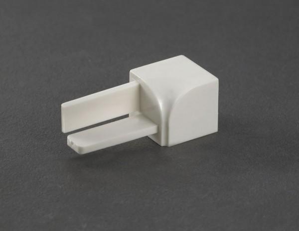 Rundprofil Innenecke PVC