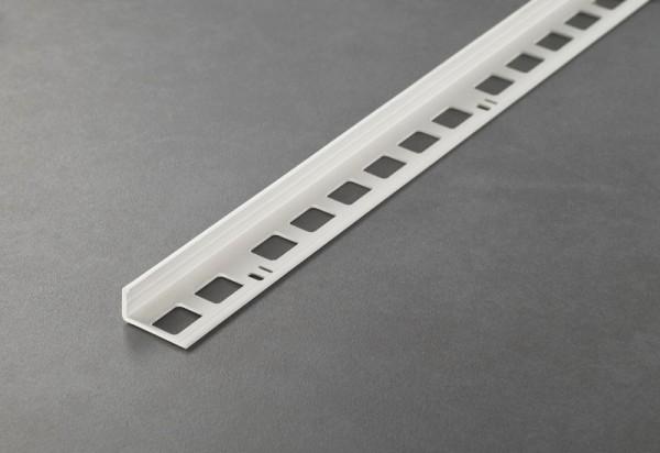 250cm//15mm Edelstahl gebürstet Fliesenschiene oder Ecke Quadratprofil