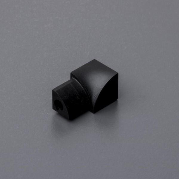 Rundprofil Innenecke Aluminium schwarz