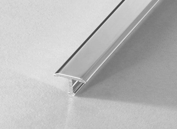 T-Profil Aluminium verchromt