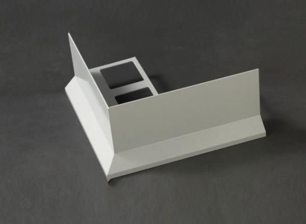 Ecken für Wetterschenkelprofil Auflageschenkel gestanzt