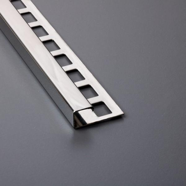 Quadratprofil Edelstahl poliert