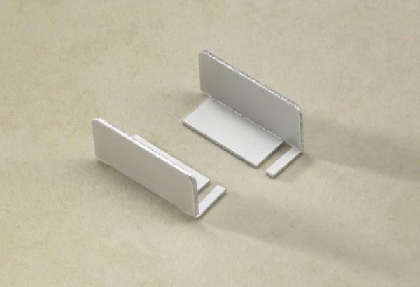 Endkappe für Stufenprofil mit PVC-Einlage