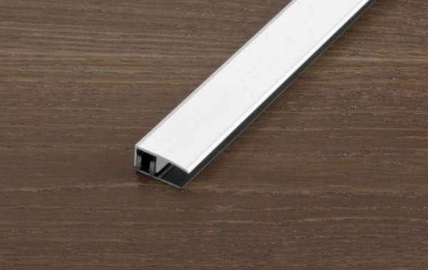 Aluminium eloxiert: Silber