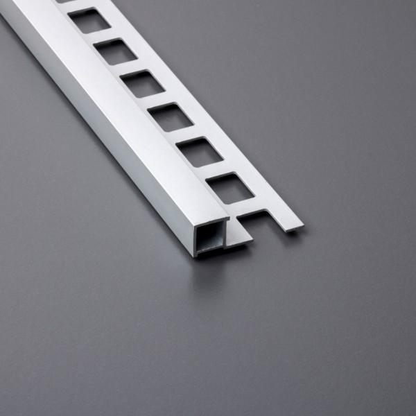 Fliesenschiene Aluminium Quadratprofil