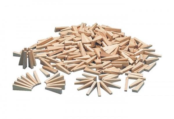 Fliesenholzkeile aus Hartholz