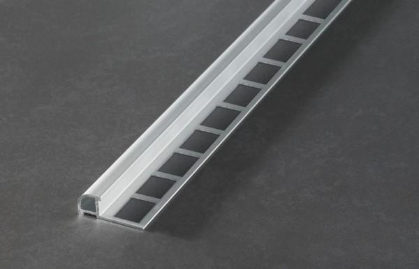 Fliesenschiene Musterstück - Rundprofil Aluminium