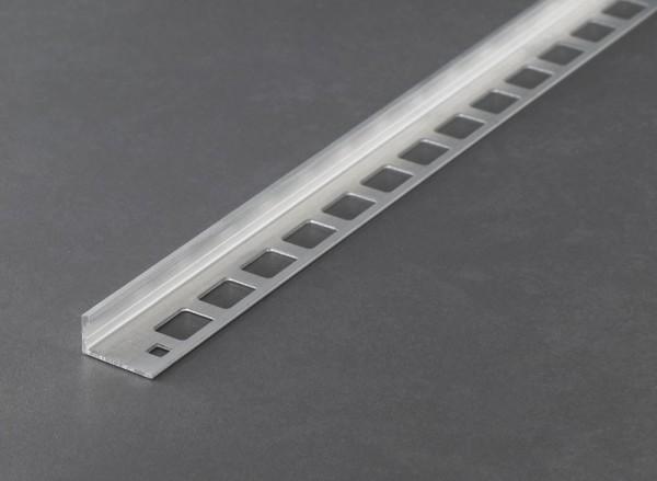 Fliesenschiene Musterstück - Winkelprofil Aluminium