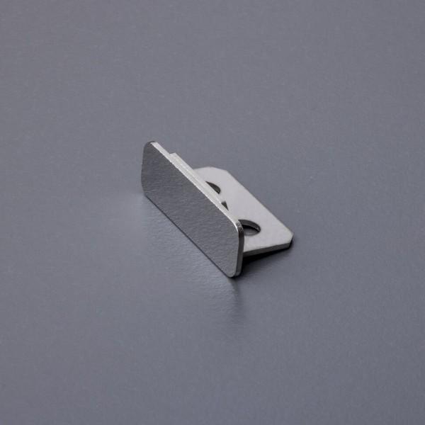 Endkappe universal für Stufenprofil - Edelstahl 1 Stück