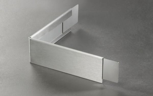 Verblenderprofil Außenecke 150x150mm