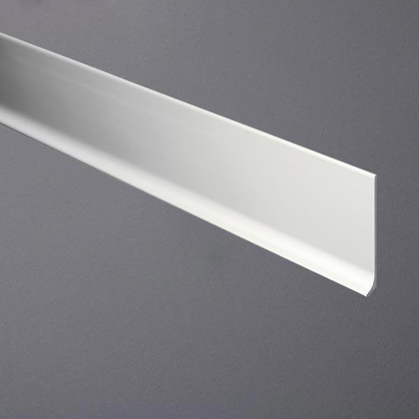 Sockelleiste aus Aluminium silber eloxiert