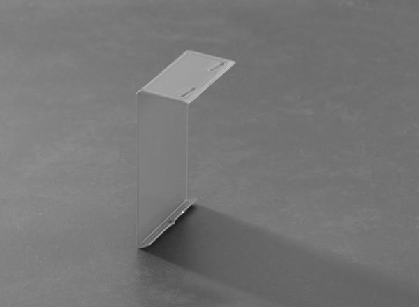 Verbinder für Balkonprofil Aufschlagschenkel Aluminium