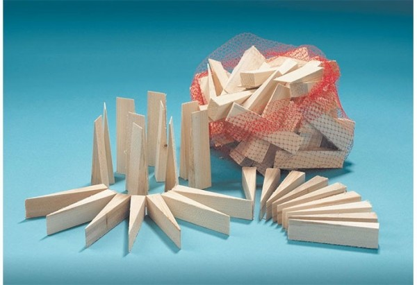 Holzkeile - 100 Stück