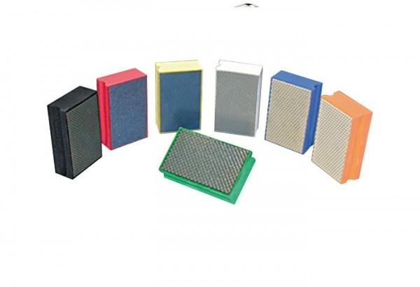 Diamantpads Set im Kunststoffkoffer